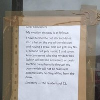 This Clare homeowner has the perfect way of dealing with canvassing politicians