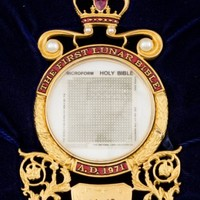 Tiny copy of the Bible which was on board Apollo 13 sells at auction