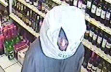 Man robs shop while wearing a plastic bag on his head