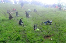 Annual cheese rolling race goes ahead - despite being cancelled
