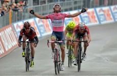 Australian Matthews retains Giro lead, as Ireland's Roche involved in bad crash