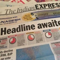 Story of the year in the Indian Express