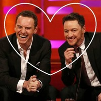 Michael Fassbender and James McAvoy got slobbery in an interview... It's the Dredge