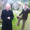 Actual Irish trainee priest kicks Bishop Brennan up the arse