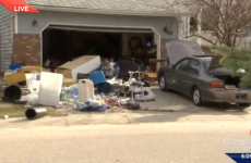 Suspected home explosion turns out to be just a huge mess