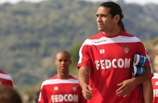 Falcao makes early return to training as he clings onto World Cup dream