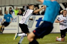 Meenan strikes late to help Dundalk return to the top of the table
