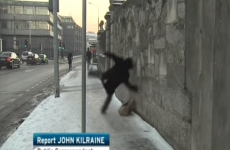 Well THAT explains The Man Who Slipped On The Ice...