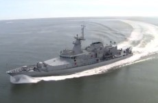 """Pride and anticipation"" as LÉ Samuel Beckett vessel commissoned"