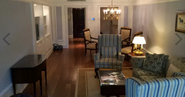 This five-star Powerscourt Hotel suite is on Daft.ie for less than most Dublin flats