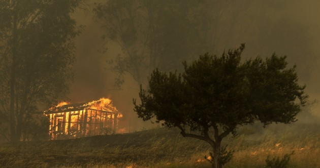 Arson suspect charged over one of a dozen fires that destroyed homes