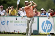 Pádraig Harrington two off the lead at Byron Nelson Championship