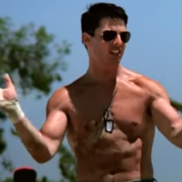 The 5 stages of watching the Top Gun volleyball scene, in tweets