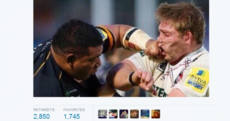 Check out Tom Youngs and Salesi Ma'afu's brilliant Twitter reaction to their on-field scuffle