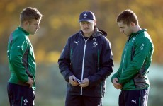 'My Ireland squad to tour Argentina this summer is...'