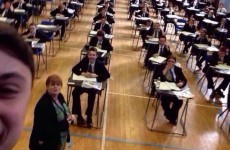 This unbelievably stupid exam selfie is going super viral
