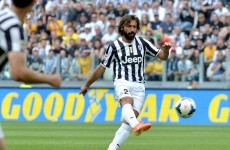 Definitive proof that Andrea Pirlo has still got it