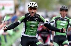 Irish-born Robert Jon-McCarthy wins opening stage of this year's Rás