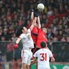 Cavanagh rescues Tyrone to force draw with Down in five-goal Ulster opener
