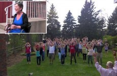 Terminally ill woman surprised with amazing flash mob from family and friends