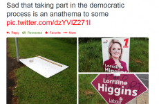 MEP hopeful says she will report poster vandalism to gardaí