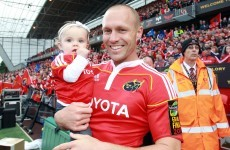 Neck injury forces Munster favourite Paul Warwick to hang up his boots