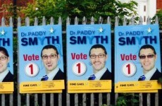 Dublin election candidate appreciates your poster vandalism