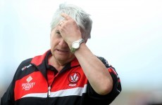 'Last time there was controversy, they won the All-Ireland' - Derry boss on facing Donegal