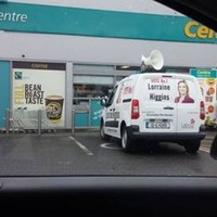Lorainne Higgins criticised after campaign van parked in a disabled space
