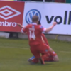 Oof! John Russell smashes his way onto the Goal of the Month shortlist for May