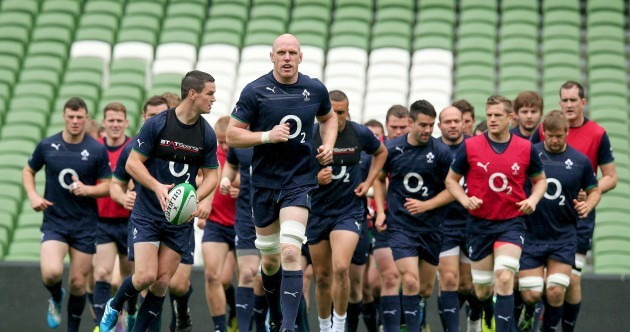 In pictures: The Six Nations champions are back in training