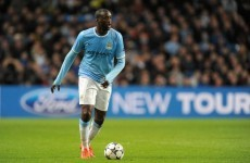 Toure takes to Twitter and backs agent's claims, hints at City unrest (we think)