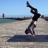 Amazing video of dancer at the Poolbeg Lighthouse will make you long for sunshine