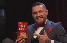 We know which side Conor McGregor is siding on in the age-old 'King or Tayto?' question