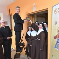 Papal Nuncio launches range of religious tiles (yes, tiles) with mystique