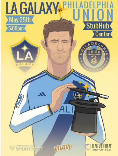 'Keane is Magic' -- Check out this class illustration of our Robbie