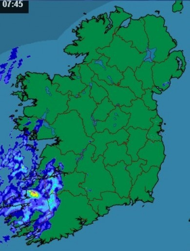 It's going to be 'mainly dry' today, but it's Ireland, so showers are likely