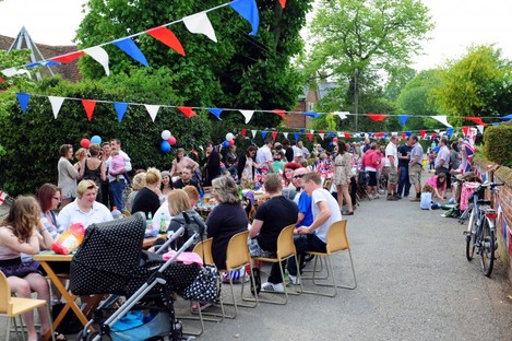 How about a street party to get to know your neighbour?