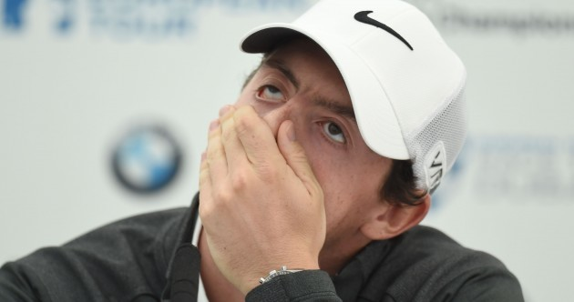 'I didn't think there was any reason to pull out' - McIlroy to keep up golfing commitments