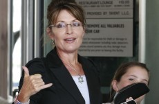 Sarah Palin bus tour narrowly misses being hit by deadly tornado that kills four