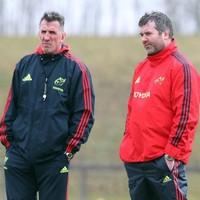 Munster old guard's fresh start after 'frustrating' two seasons under Penney