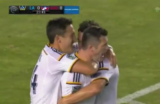 Robbie Keane popped up with this 'spectacular' goal for the LA Galaxy last night