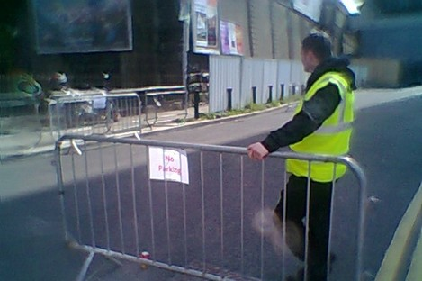 Barriers already in place ahead of One Direction concerts in Croke Park.