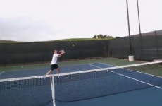 Roger Federer shows you what it's like to play tennis from his perspective