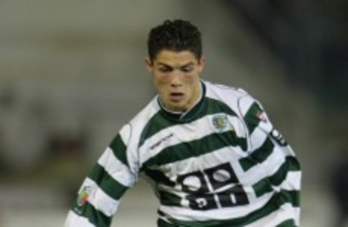 official photos 05643 2d39d Cristiano Ronaldo: The boy who conquered Lisbon · The42