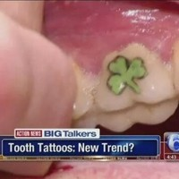 Teeth tattoos are a thing now, and they're awful