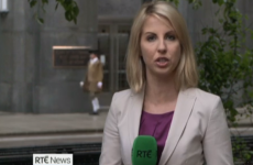 Last night's RTÉ News featured an unexpected appearance from George Washington