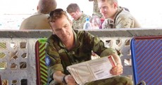 Pictures: Irish Defence Forces personnel vote in Election 2014 ... from Mali