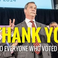 Election 2014: UKIP surges in council vote, Tweets ethnically diverse 'thank you' photo...