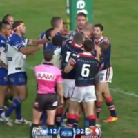 This rugby league player came up with a unique way to beat tackles